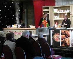 Lincolnshire Food & Gift Fair Cookery Demonstration
