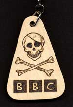 BBC Lincolnshire Pirate Gold Keyring