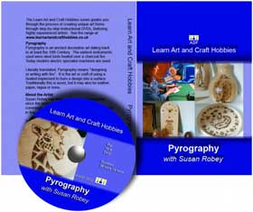Pyrography with Susan Robey Instructional DVD